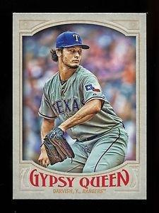 2016 Topps Gypsy Queen Baseball  Base  #85  Yu Darvish
