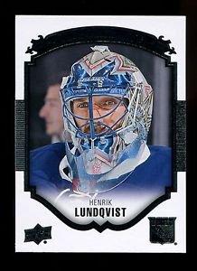 2015-16 Upper Deck Hockey Series 1 UD Portraits  #P-7  Henrik Lundqvist