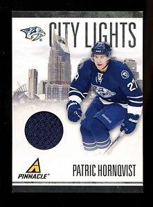 2010-11 Panini Hockey  PINNACLE  City Lights  #46  Patric Hornqvist  33/499
