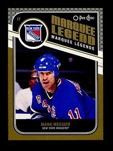 2011-12 OPC O-Pee-Chee Hockey  Marquee Legend  #515  Mark Messier