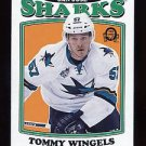 2016-17 O-Pee-Chee Hockey OPC  RETRO  #405  Tommy Wingels