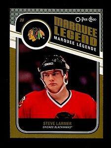 2011-12 OPC O-Pee-Chee Hockey  Marquee Legend  #543  Steve Larmer