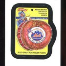 2016 Topps MLB Wacky Packages  #29  Mets Deli Meat