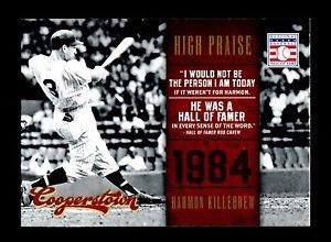 2012 Panini Cooperstown Baseball Hall of Fame  High Praise #18  Harmon Killebrew