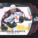 2015-16 Upper Deck Hockey Full Force  Valuable Assets  #V-TB  Tyson Barrie