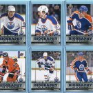 2015-16 Upper Deck  Biography of a Season  Set of 6 cards  Wayne Gretzky