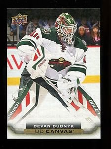 2015-16 Upper Deck Hockey Series 2  UD Canvas  #C163  Devan Dubnyk