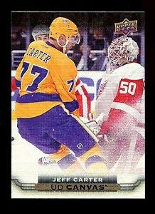 2015-16 Upper Deck Hockey Series 1 UD Canvas  #C41  Jeff Carter