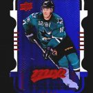 2015-16 MVP Hockey Colours and Contours #44  Patrick Marleau  Purple Level 1