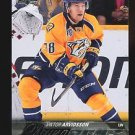 2015-16 Upper Deck Hockey Series 1 Young Guns  #222  Viktor Arvidsson