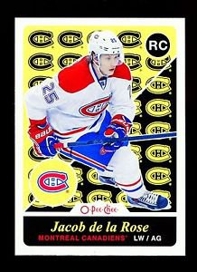 2015-16 OPC O-Pee-Chee  RETRO Parallel  #509  Jacob de la Rose  RC