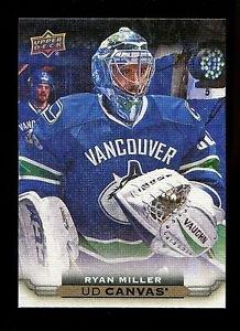 2015-16 Upper Deck Hockey Series 1 UD Canvas  #C84  Ryan Miller
