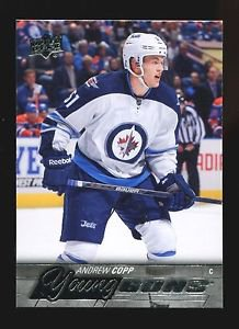 2015-16 Upper Deck Hockey Series 1 Young Guns  #205  Andrew Copp