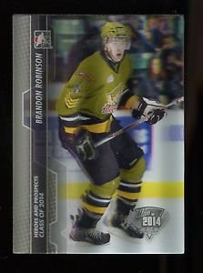2013-14 ITG Heroes & Prospects 3D SP Class of 2014  #177  Brandon Robinson