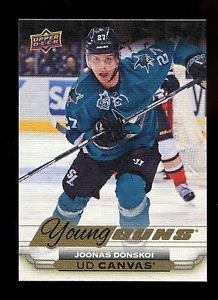2015-16 Upper Deck Hockey Series 1 Young Guns Canvas  #C94  Joonas Donskoi
