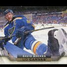 2015-16 Upper Deck Hockey Series 1 UD Canvas  #C75  David Backes