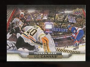 2015-16 Upper Deck Hockey Series 1 UD Canvas  #C6  Tuukka Rask