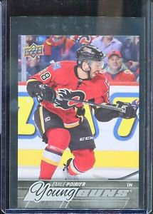 2015-16 Upper Deck Hockey Series 1 OVERSIZE Jumbo Young Guns #210  Emile Poirier