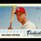 2016 Topps Heritage Baseball  Flashbacks  #BF-OC  Orlando Cepeda