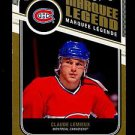 2011-12 OPC O-Pee-Chee Hockey  Marquee Legend  #523  Claude Lemieux
