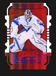 2015-16 MVP Hockey Colours and Contours #85  Ben Bishop  Gold Level 2