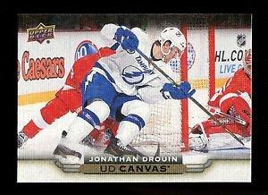 2015-16 Upper Deck Hockey Series 1 UD Canvas  #C79  Jonathan Drouin