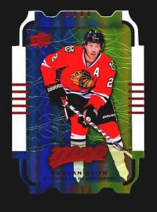 2015-16 MVP Hockey Colours and Contours #76  Duncan Keith  Teal Level 1
