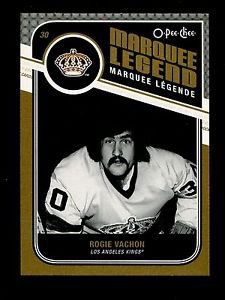 2011-12 OPC O-Pee-Chee Hockey  Marquee Legend  #527  Rogie Vachon