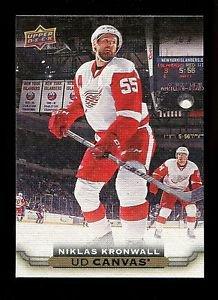 2015-16 Upper Deck Hockey Series 1 UD Canvas  #C30  Niklas Kronwall
