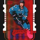 2015-16 MVP Hockey Colours and Contours #28  Joe Thornton  Gold Level 2