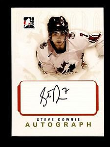 2007-08 ITG O Canada Hockey Autograph  Steve Downie  #A-SD