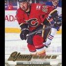 2015-16 Upper Deck Hockey Series 1 Young Guns Canvas  #C92  Emile Poirier