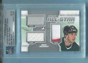 2012-13 ITG Ultimate Memorabilia UM12 All-Star Player Silver 22/24   Mike Modano