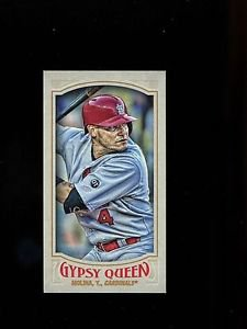 2016 Topps Gypsy Queen Baseball  Mini  #102  Yadier Molina