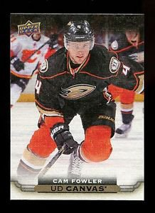 2015-16 Upper Deck Hockey Series 1 UD Canvas  #C2  Cam Fowler