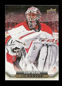 2015-16 Upper Deck Hockey Series 1 UD Canvas  #C16  Cam Ward