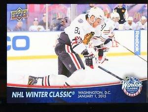 2015-16 Upper Deck Series 1 OVERSIZE Winter Classic Topper #WC-8  Marian Hossa