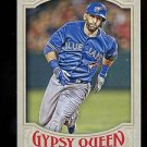 2016 Topps Gypsy Queen Baseball  Base  #12  Jose Bautista