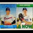 2016 Topps Heritage Baseball  Then & Now #TAN-NG  Phil Niekro  Zack Greinke