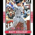 2015 Panini Donruss Baseball  GOLD Press Proof  #163  Matt Holliday  31/99