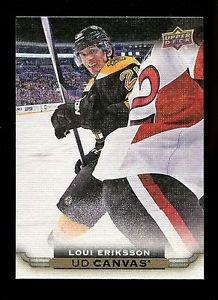 2015-16 Upper Deck Hockey Series 1 UD Canvas  #C8  Loui Eriksson