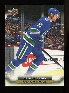 2015-16 Upper Deck Hockey Series 2  UD Canvas  #C202  Daniel Sedin