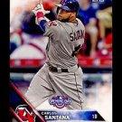2016 Topps Opening Day Baseball  #OD-3  Carlos Santana