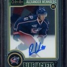 2014-15 OPC O-Pee-Chee Platinum Autograph  #RA-4  Alexander Wennberg  RC