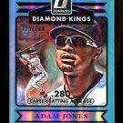 2015 Panini Donruss Baseball  Diamond Kings  #3  Adam Jones  Stat Line  215/280