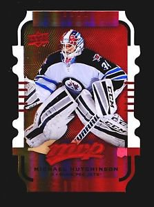 2015-16 MVP Hockey Colours and Contours #142  Michael Hutchinson  Gold Level 3