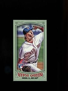 2016 Topps Gypsy Queen Baseball  Mini  Green  SP  #43  Henry Owens  RC  95/99