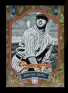 2012 Panini Cooperstown Baseball  Crystal Collection  #83  Burleigh Grimes  /299