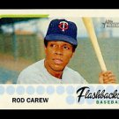 2016 Topps Heritage Baseball  Flashbacks  #BF-RCA  Rod Carew