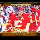 2015-16 Upper Deck Hockey Portfolio  #176  Sean Monahan
